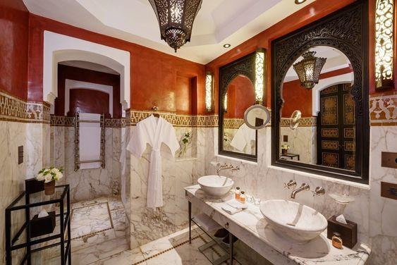 モロッコインテリア トイレ ミラー コーディネート例