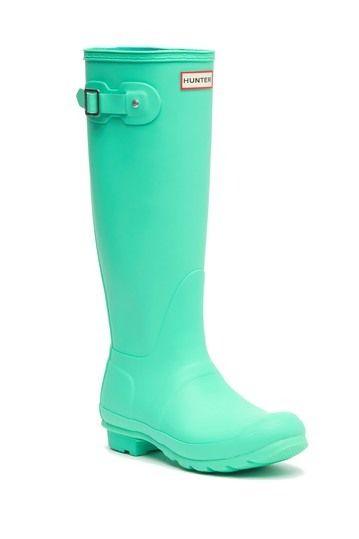 Hunter Original Tall Waterproof Rain Boot Nordstrom Rack