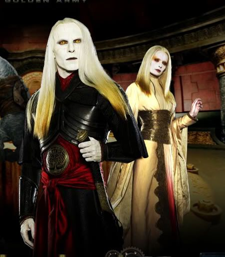 Princess Nuala & Prince Nuada ~ Hellboy 2: The Golden Army ... Hellboy 2 Prince Nuada