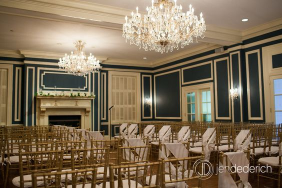Ceremony space at the Madison Club  Jen Dederich Photography. #Weddings #madisonclub #madison #madisonweddings www.madisonclub.org