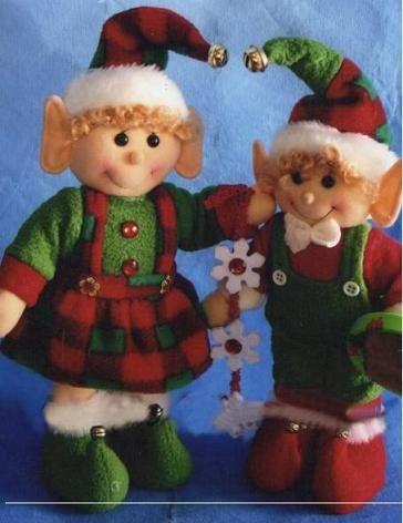moldes de duendes navideños - Buscar con Google