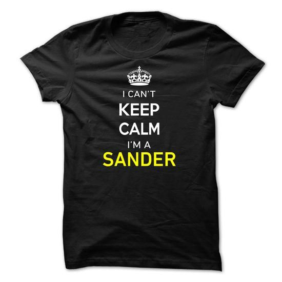 I Cant Keep Calm Im A SANDER-B63AAD - #hoodie design #sweater pillow. MORE INFO => https://www.sunfrog.com/Names/I-Cant-Keep-Calm-Im-A-SANDER-B63AAD.html?68278