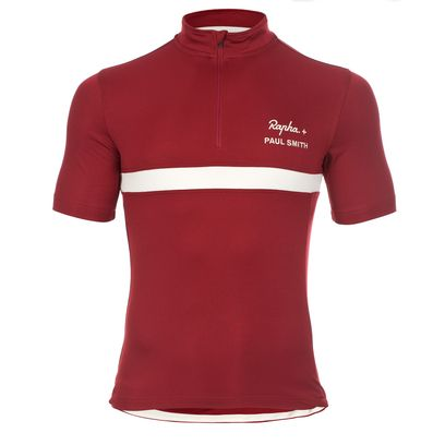 Rapha + Paul Smith - Red PS Club Cycling Jersey