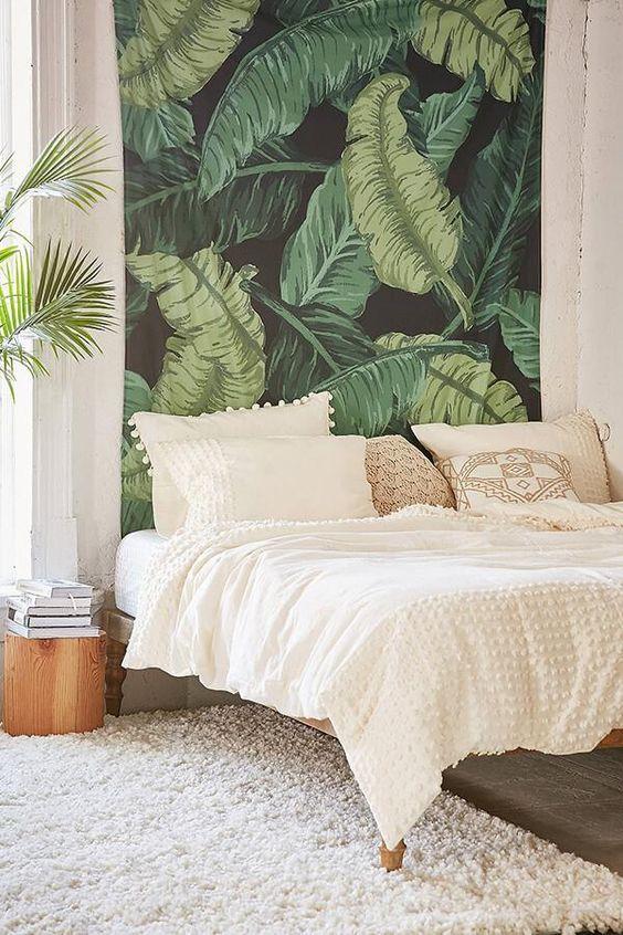 Floralkini Banana Leaf Tapestry