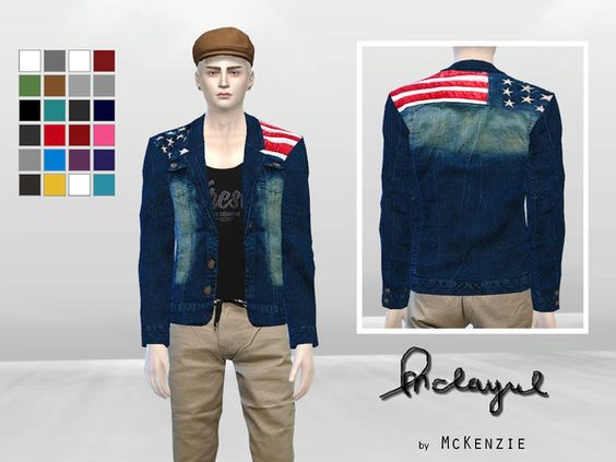 Sims 4 CC's - The Best: Clothing for Men by McLayneSims
