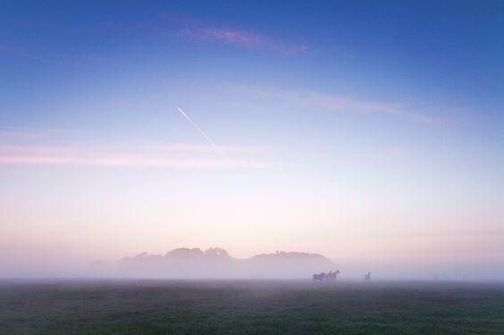land as far the eyes can reach.... - Drentsche Aa - the netherlands