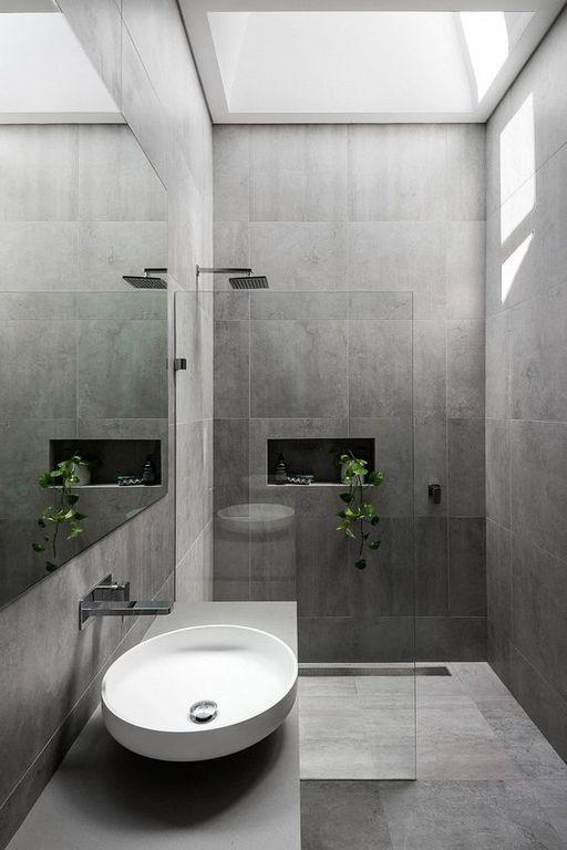 Trendy Grey Bathroom Designs In 2020 Bathroom Design Grey Bathrooms Designs Grey Bathrooms