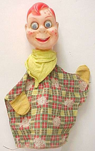 Early 50s Howdy Doody hand puppet | Toys/Books-Vintage ...