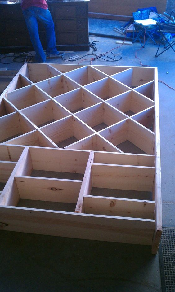 My Daughters Box Room Right Side: I Want To Build This Kind Of Bookcase For My Daughter's