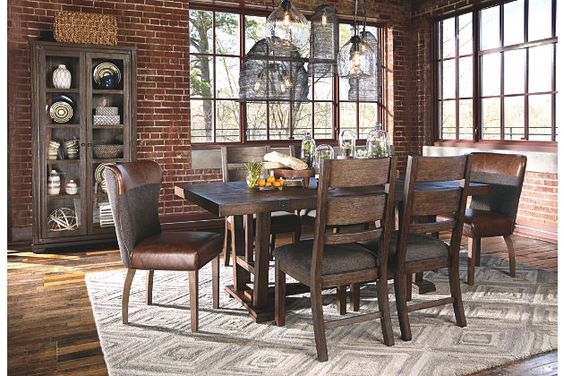 Zenfield Dining Room Table Dining Room Table Dining Chairs Contemporary Dining Furniture