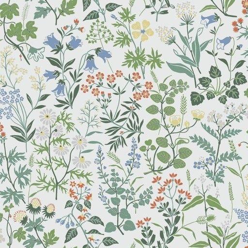 Tapeten Im Skandinavischen Stil In 2020 Tapeten Tapetenmuster Blumentapete