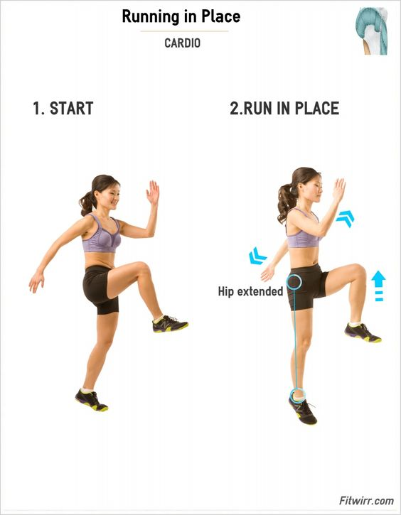 Running In Place | Simple, Cardio and Running