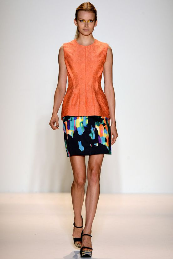 Lela Rose,  Spring / Summer 2013