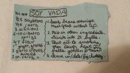 SOY VADA #southasia #soybean