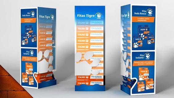 Fita Vedarosca, da Tigre: Desenvolvimento de Embalagem e de PDV.