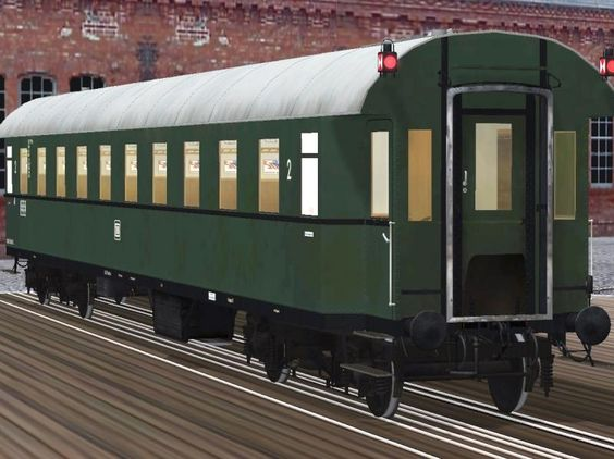 Ganzstahlwagen 2. Klasse der DB, Bauart 1928 –Epoche 3