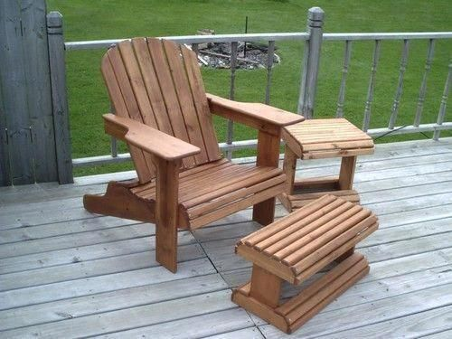 Adirondack Chair Ottoman Woodworking Plans In 2020 Woodworking