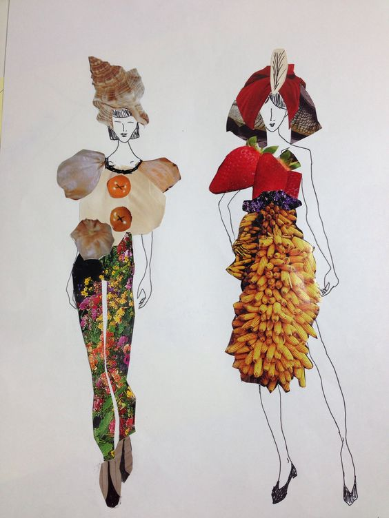 Fashion Collage by Noa Nave.