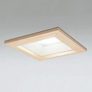 木枠 ダウンライト 和モダン インテリア イメージ 照明