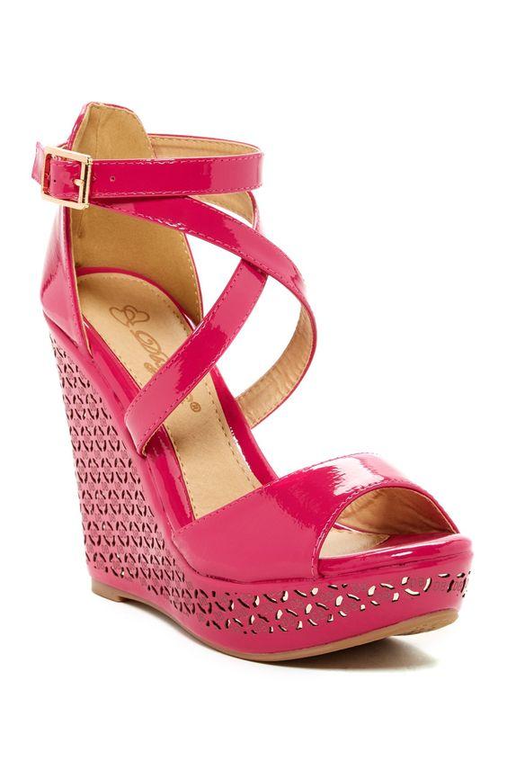 Cree Wedge Sandal  Elegant