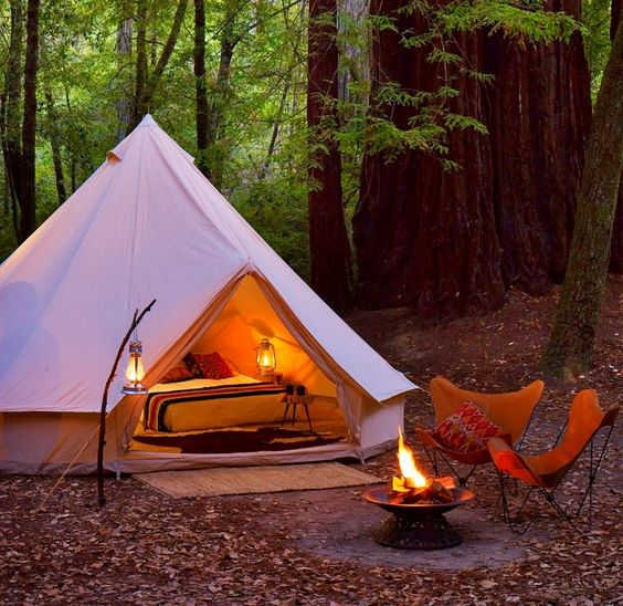 Glamping - so beautiful
