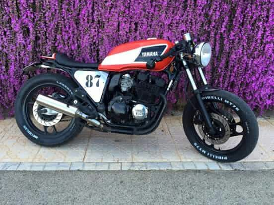 yamaha 39 87 xj600 cafe racer pinterest. Black Bedroom Furniture Sets. Home Design Ideas