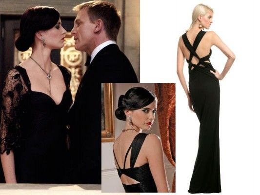 Bond girl cocktail dresses