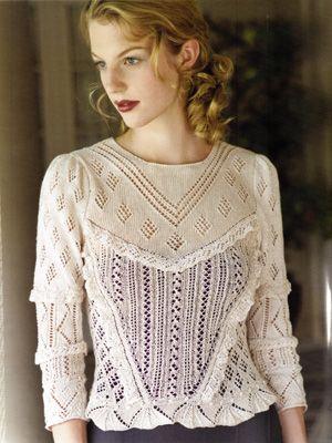 Victorian Lace Blouses