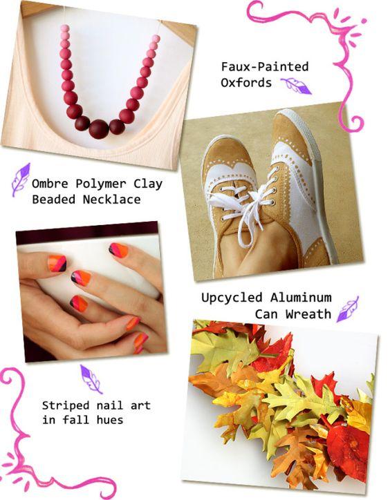 Fall DIY projects. See more DIY at http://heymishka.com !