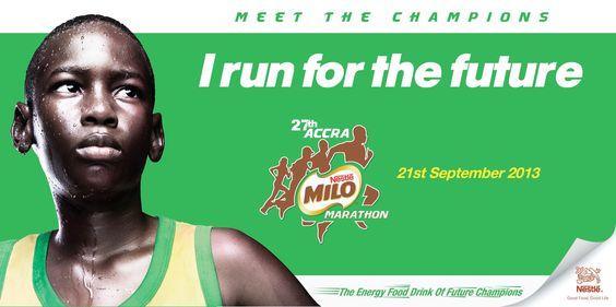 Milo Marathon Campaign for Nestle CWAR Copy: Emmanuel Amankwah Art Direction: Charles Tachie-Menson Creative Director: Emmanuel Amankwah