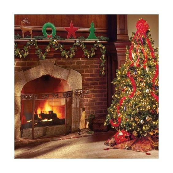 WishingonaStarr_Coming home for Christmas paper001.jpg ❤ liked on Polyvore featuring christmas