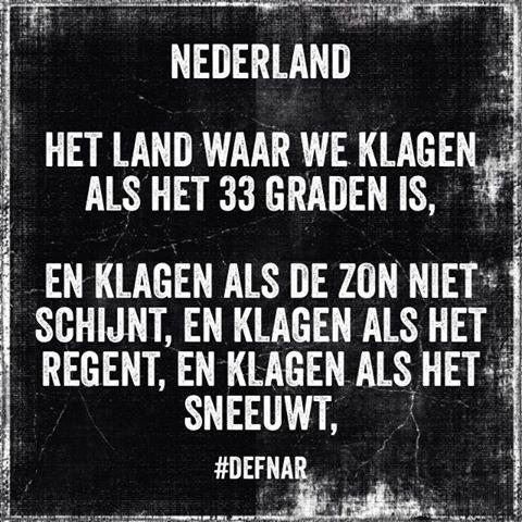 #nederland #klagen