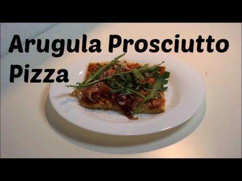 Check out this #delicious #arugula #prosciutto #pizza and #DIY.   Check out diese #leckere #Rucola #Schinken #Pizza und mach sie selbst.   #food #yummy #kitchen #Küche #PizzaTime #SoooGood