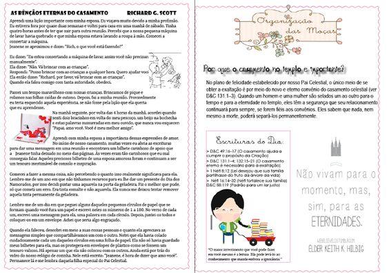 Jornalzinho das Aulas das Moças - Agosto 2013, O Casamento e a Família