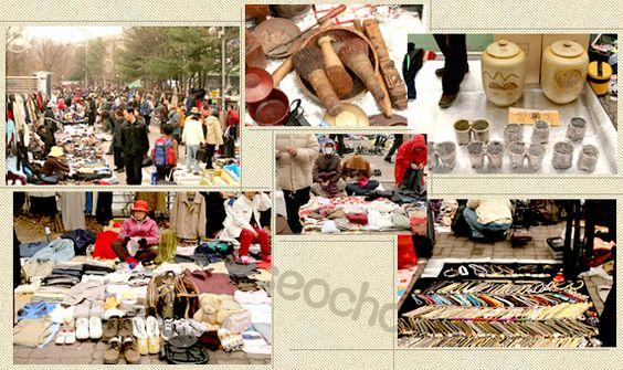Những góc chợ trời ngày thứ bẩy ở Seocho Ảnh: visitkorea.org