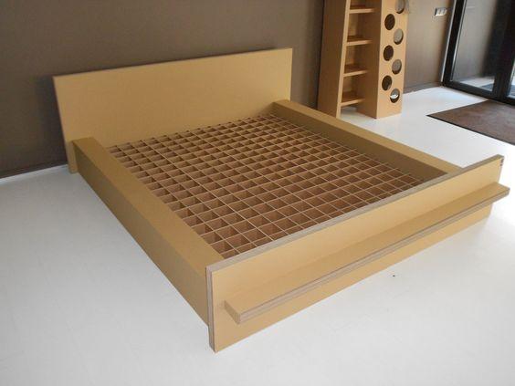 Cardboard Bed - SlowSlowDesign - Cama de cartón: