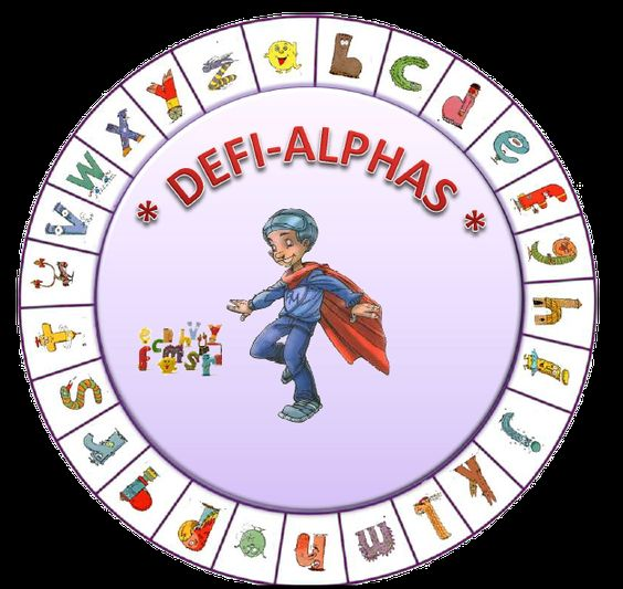Alphas- cahiers Faire tourner la roulette et trouver le plus de mots qui debutent par la lettre selectionnee