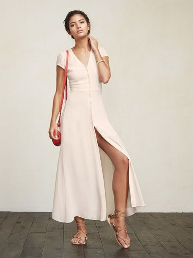 In case you were looking for that easy, perfect to wear anywhere dress - the Naveen Dress. Don't say we never did anything for you. https://www.thereformation.com/products/naveen-dress-cream?utm_source=pinterest&utm_medium=organic&utm_campaign=PinterestOwnedPins