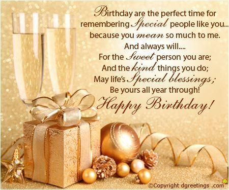 Birthday wishes...: