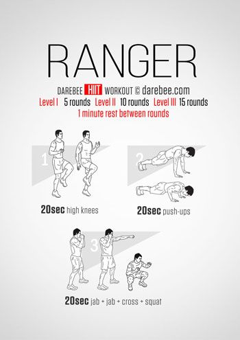 Ranger Workout
