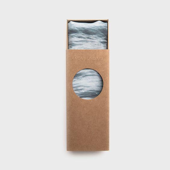 Pacific print silk scarf by Kelly Lynn Jones