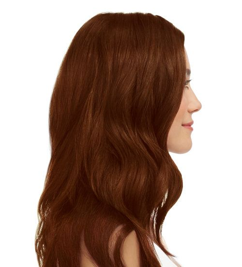Dark Brown Copper Mahogany 4 45 With Images At Home Hair Color