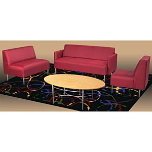 Hpfi eve linear lounge seating library furniture pinterest lounges and lounge - Library lounge chairs ...