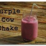 Purple Cow Shake