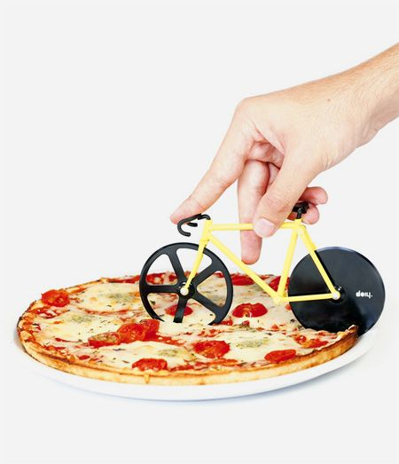Fixie Pizza Cutter - Stocking Stuffer Visit us @ http://www.wocycling.com/ for the best online cycling store.