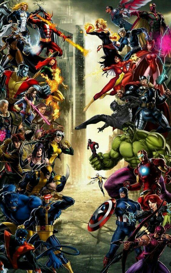 Avengers Vs X Men Heroes Marvel Marvel Vengadores Marvel