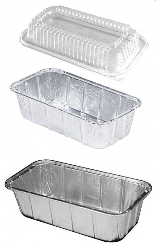 Penny Plate 1 1 2 Lb Disposable Aluminum Foil Loaf Bread Pan Tin W Dome Lid Pack Of 15 Pan Bread Loaf Bread Aluminum Foil