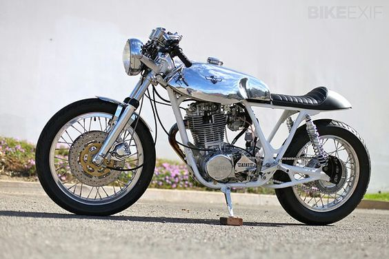 "Yamaha SR500 Chappell Customs ""Angel"""