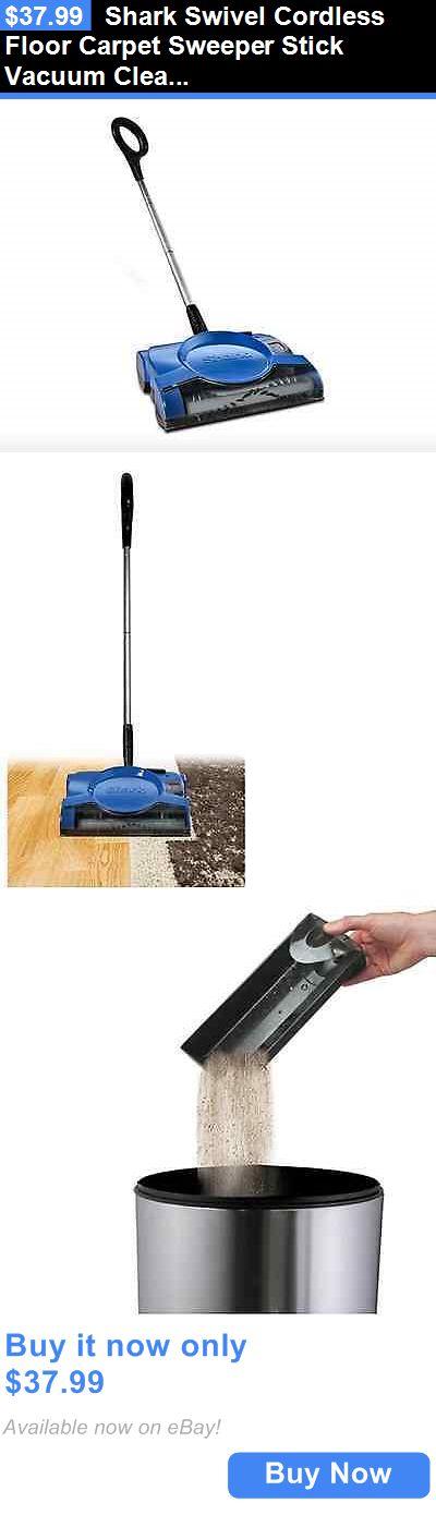 household items shark swivel cordless floor carpet sweeper stick vacuum cleaner new buy it - Shark Sweepers