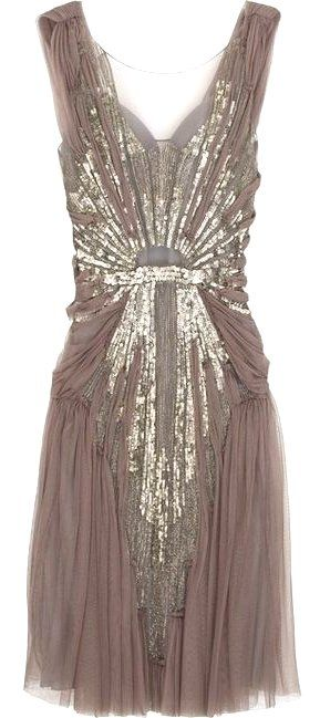 Vintage dress. I love this.
